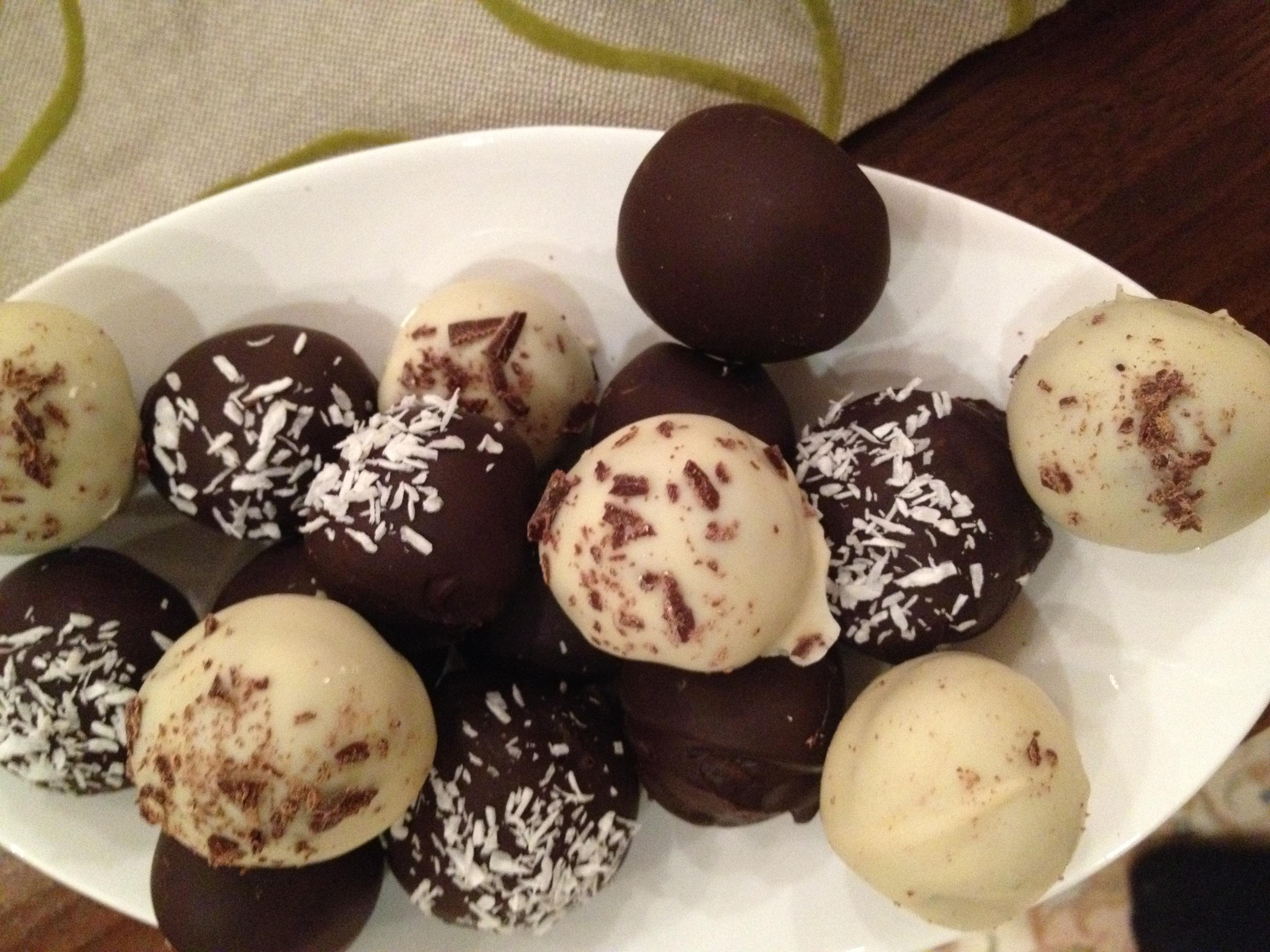 how to make chocolate truffles with philadelphia
