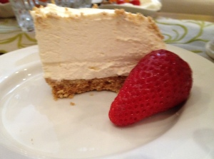 Doorstop Vanilla Cheesecake