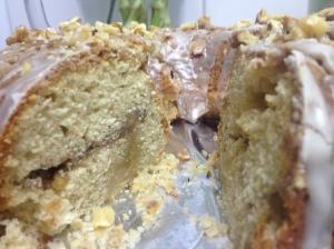 Maple & Walnut Streusel Cake
