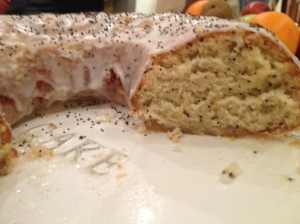 Lemon and Poppy Seed Ring Cake