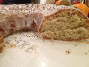 Lemon and Poppy Seed Ring Cake